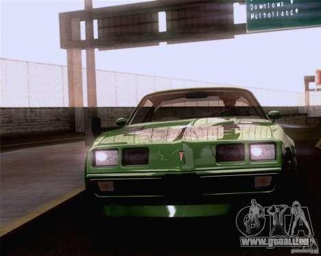 Optix ENBSeries Anamorphic Flare Edition pour GTA San Andreas troisième écran