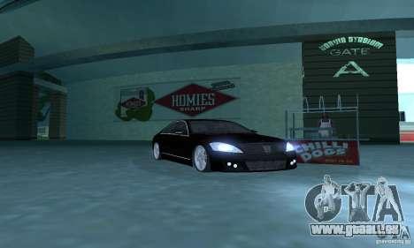 Brabus SV12 S Biturbo (w221) 2006 pour GTA San Andreas laissé vue