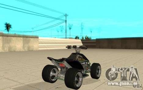 Powerquad_by-Woofi-MF peau 4 pour GTA San Andreas sur la vue arrière gauche