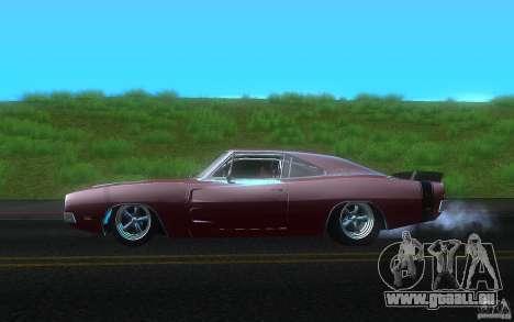 Dodge Charger RT 69 pour GTA San Andreas laissé vue