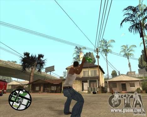 RiCkys Molotov Cocktail für GTA San Andreas dritten Screenshot