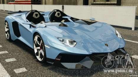 Lamborghini Aventador J 2012 pour GTA 4