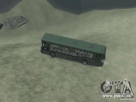 MAZ 103 Bus pour GTA 4 vue de dessus
