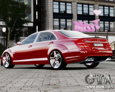 Mercedes-Benz S65 AMG 2010 Final für GTA 4 linke Ansicht