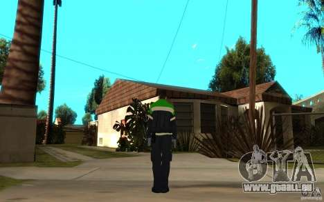 Ambulancier paramédic russe pour GTA San Andreas troisième écran