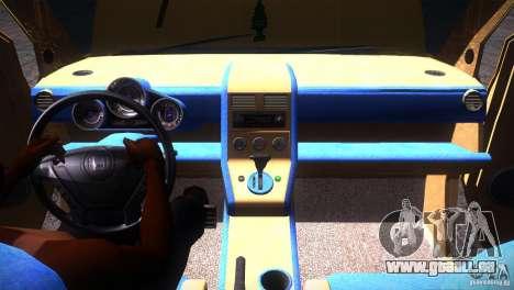 Honda Element LX pour GTA San Andreas vue de dessous