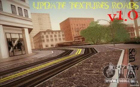 New roads San Fierro pour GTA San Andreas deuxième écran
