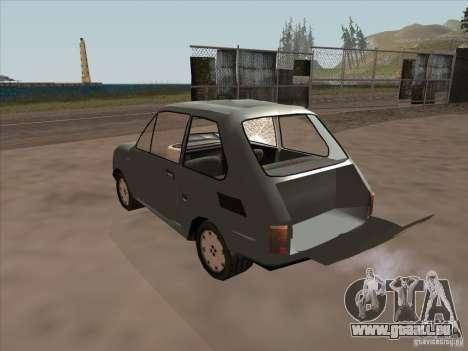 Fiat 126p Elegant für GTA San Andreas Innenansicht