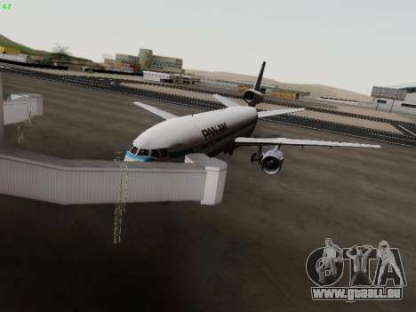 McDonell Douglas DC-10-30 PanAmerican Airways für GTA San Andreas