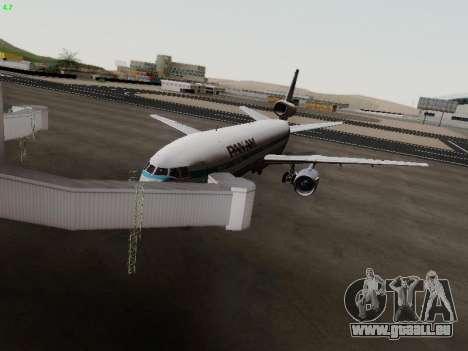 McDonell Douglas DC-10-30 PanAmerican Airways pour GTA San Andreas
