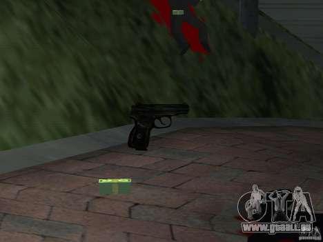 Pak version domestique armes 4 pour GTA San Andreas septième écran