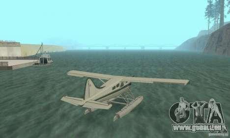 DeHavilland Beaver DHC2 pour GTA San Andreas laissé vue
