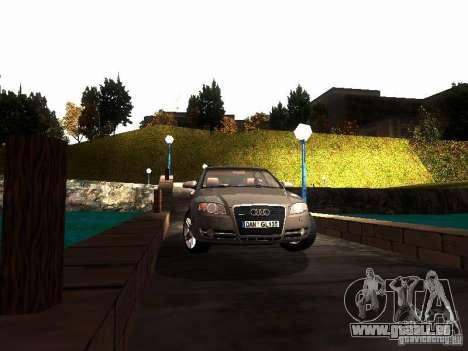 Audi A4 3.0 TDI Quattro 2005 pour GTA San Andreas vue arrière