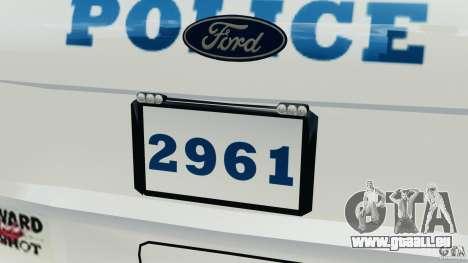 Ford Explorer NYPD ESU 2013 [ELS] für GTA 4 Innen