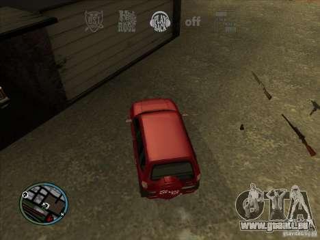 RADIO HUD IV 3.0 pour GTA San Andreas quatrième écran