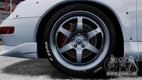 Porsche 993 GT2 1996 für GTA 4 Rückansicht