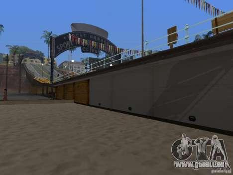 Neue Strand Textur v2. 0 für GTA San Andreas dritten Screenshot