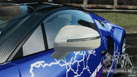 Bugatti Veyron 16.4 Super Sport 2011 v1.0 [EPM] pour GTA 4 vue de dessus