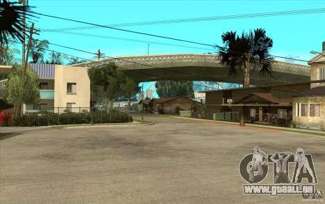 New Grove Street TADO edition pour GTA San Andreas deuxième écran