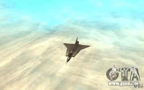 Saab J-35 Draken pour GTA San Andreas laissé vue