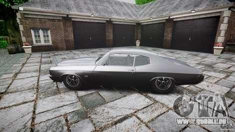 Chevrolet Chevelle SS 1970 für GTA 4 hinten links Ansicht