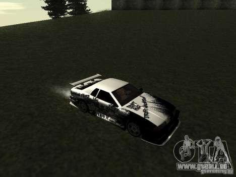 Drift Star pour GTA San Andreas laissé vue