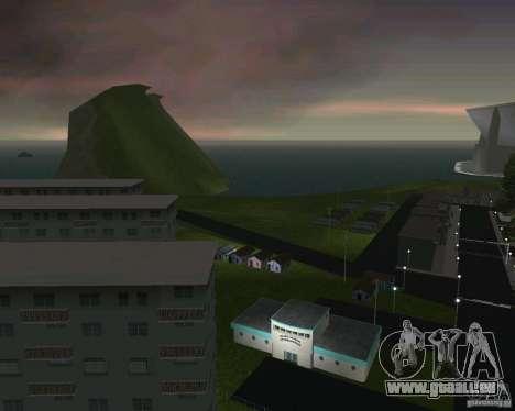 Retour à la future vallée de Hill pour GTA Vice City cinquième écran