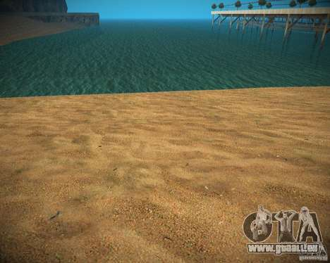 New textures beach of Santa Maria für GTA San Andreas her Screenshot