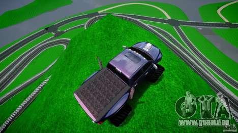 Dodge Ram 3500 2010 Monster Bigfut für GTA 4 Innen