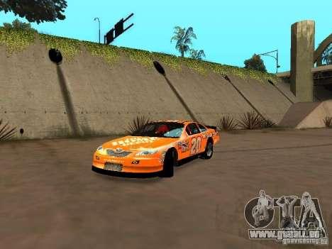 Toyota Camry Nascar Edition für GTA San Andreas linke Ansicht
