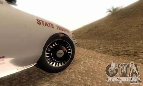 Ford Crown Victoria Louisiana Police pour GTA San Andreas vue de droite