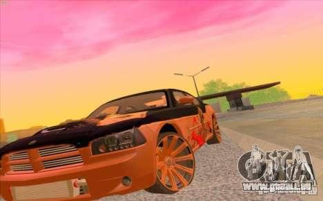 Dodge Charger SRT 8 pour GTA San Andreas laissé vue