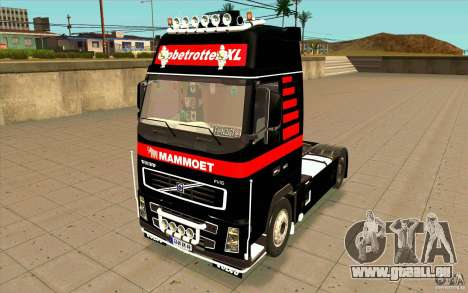 Volvo FH16 Globetrotter MAMMOET pour GTA San Andreas