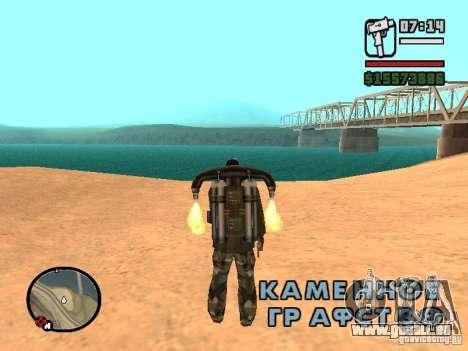 L'eau par défaut pour GTA San Andreas quatrième écran