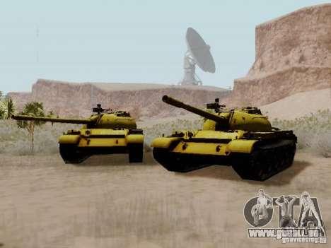 Type 59 GOLD Skin für GTA San Andreas rechten Ansicht