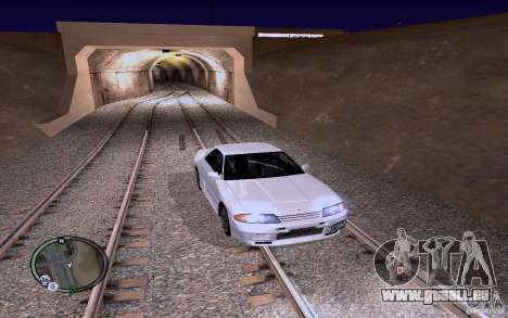 Rails russes pour GTA San Andreas