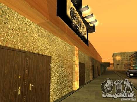 New PaynSpay: West Coast Customs pour GTA San Andreas cinquième écran