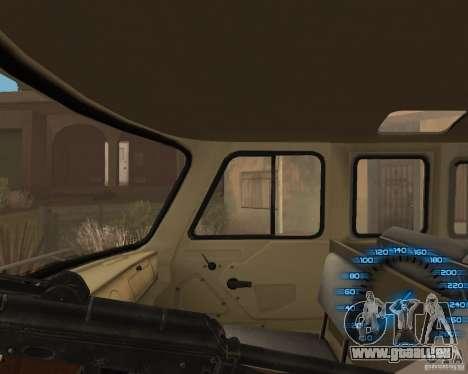 Hinter dem Lenkrad für GTA San Andreas dritten Screenshot