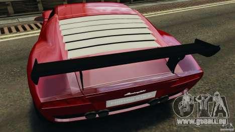 Lamborghini Miura 2006 für GTA 4 Unteransicht