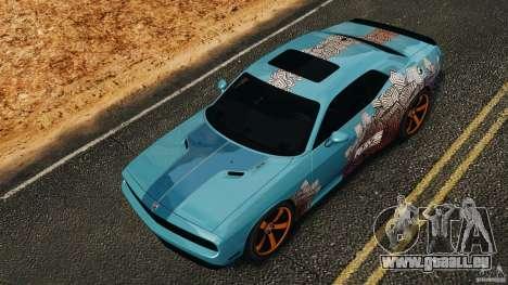 Dodge Rampage Challenger 2011 v1.0 pour GTA 4 vue de dessus