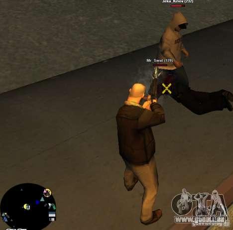 HUD №2 pour GTA San Andreas deuxième écran