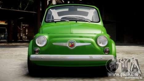 Fiat Abarth 595 SS 1968 pour GTA 4 est un droit