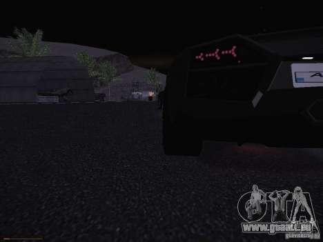Lamborghini Reventon für GTA San Andreas Seitenansicht