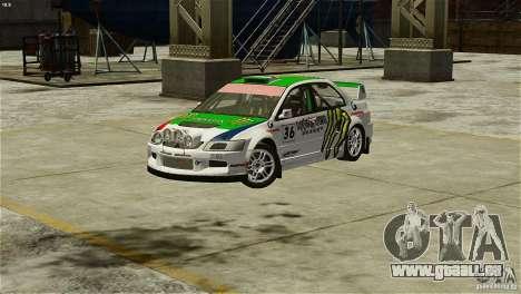 Mitsubishi Lancer Evolution IX RallyCross pour GTA 4