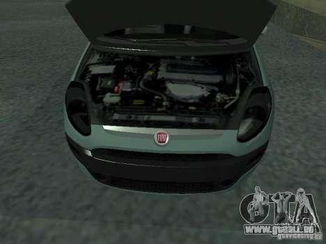 Fiat Punto EVO SPORT 2010 pour GTA San Andreas vue de droite