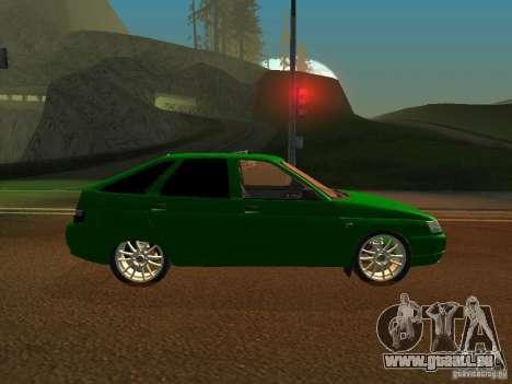 VAZ-2112 für GTA San Andreas zurück linke Ansicht