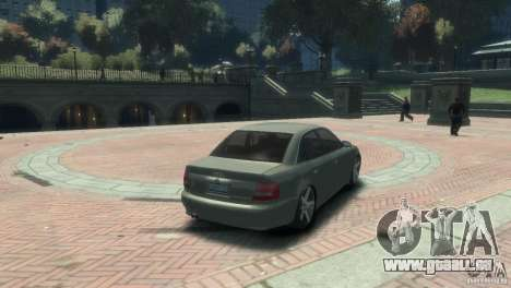 Audi S4 für GTA 4 linke Ansicht