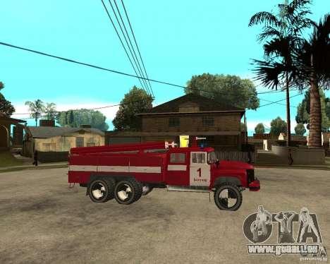 Feu ZIL 133GÂ AC pour GTA San Andreas vue de droite