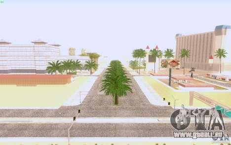 Asphalte HQ dans Las Venturase pour GTA San Andreas troisième écran