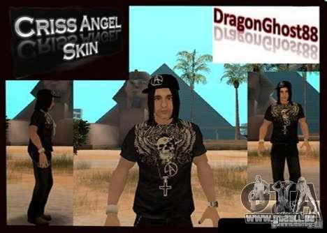 Criss Angel Skin für GTA San Andreas